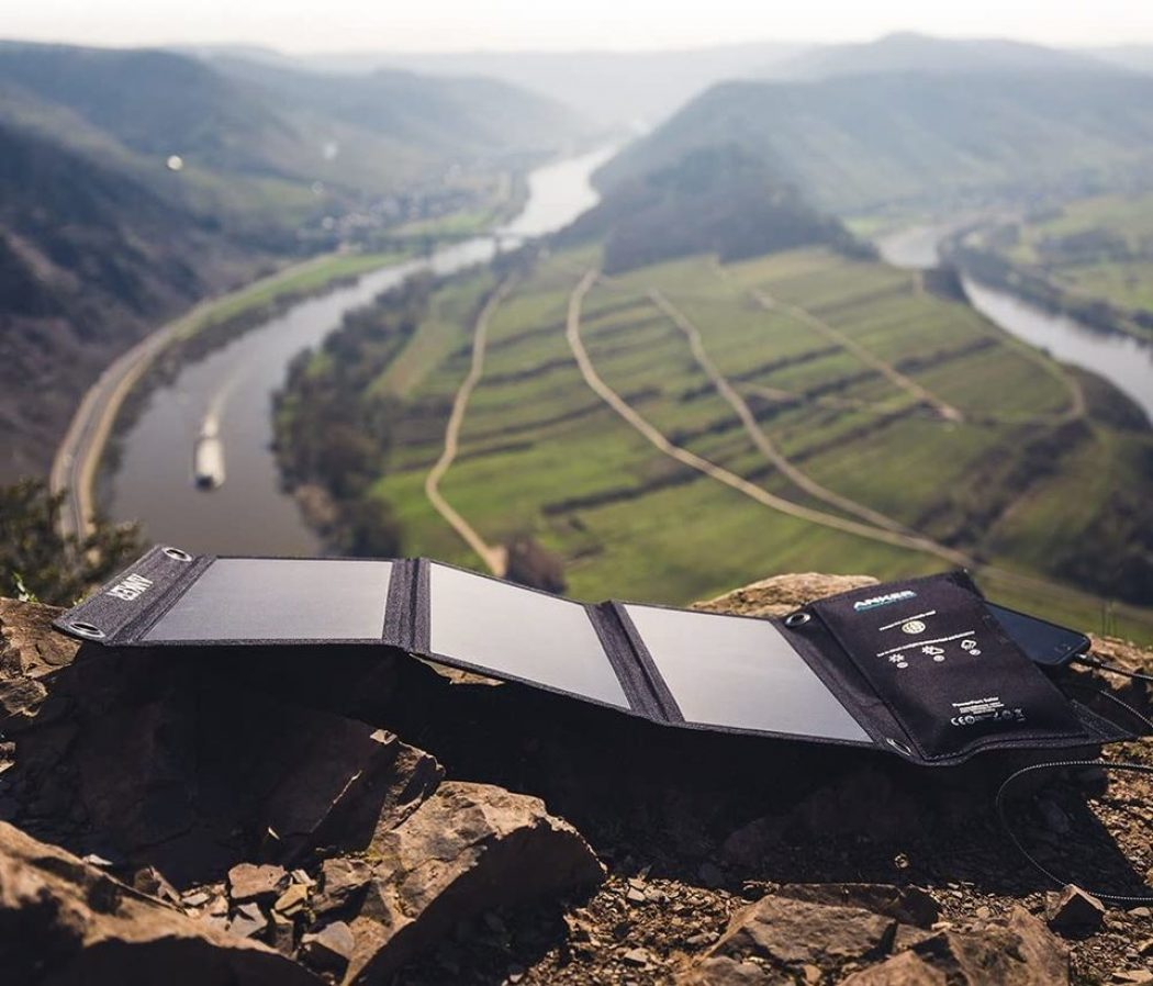 Backpacking Solar Charger Anker PowerPort Solar