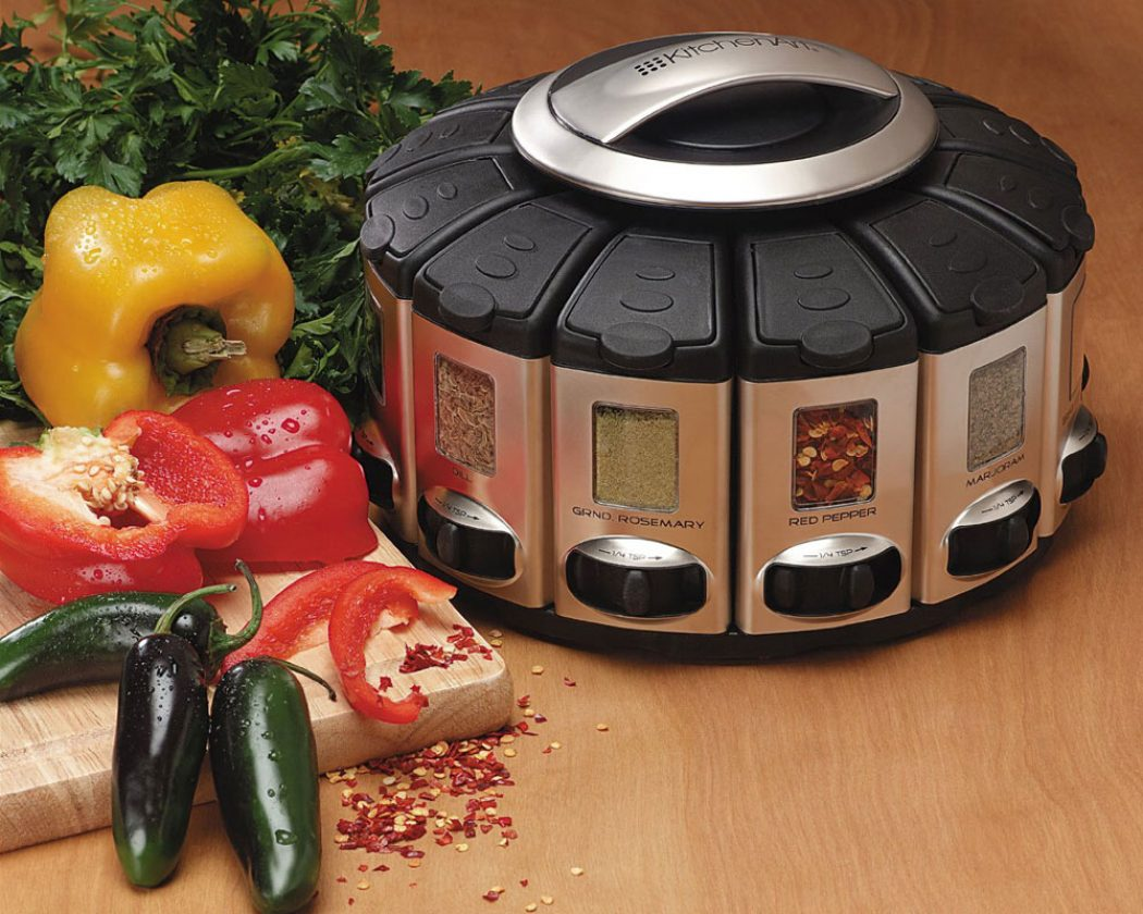 Select A Spice Automatic Spice Dispenser Is Ideal For Space Saving