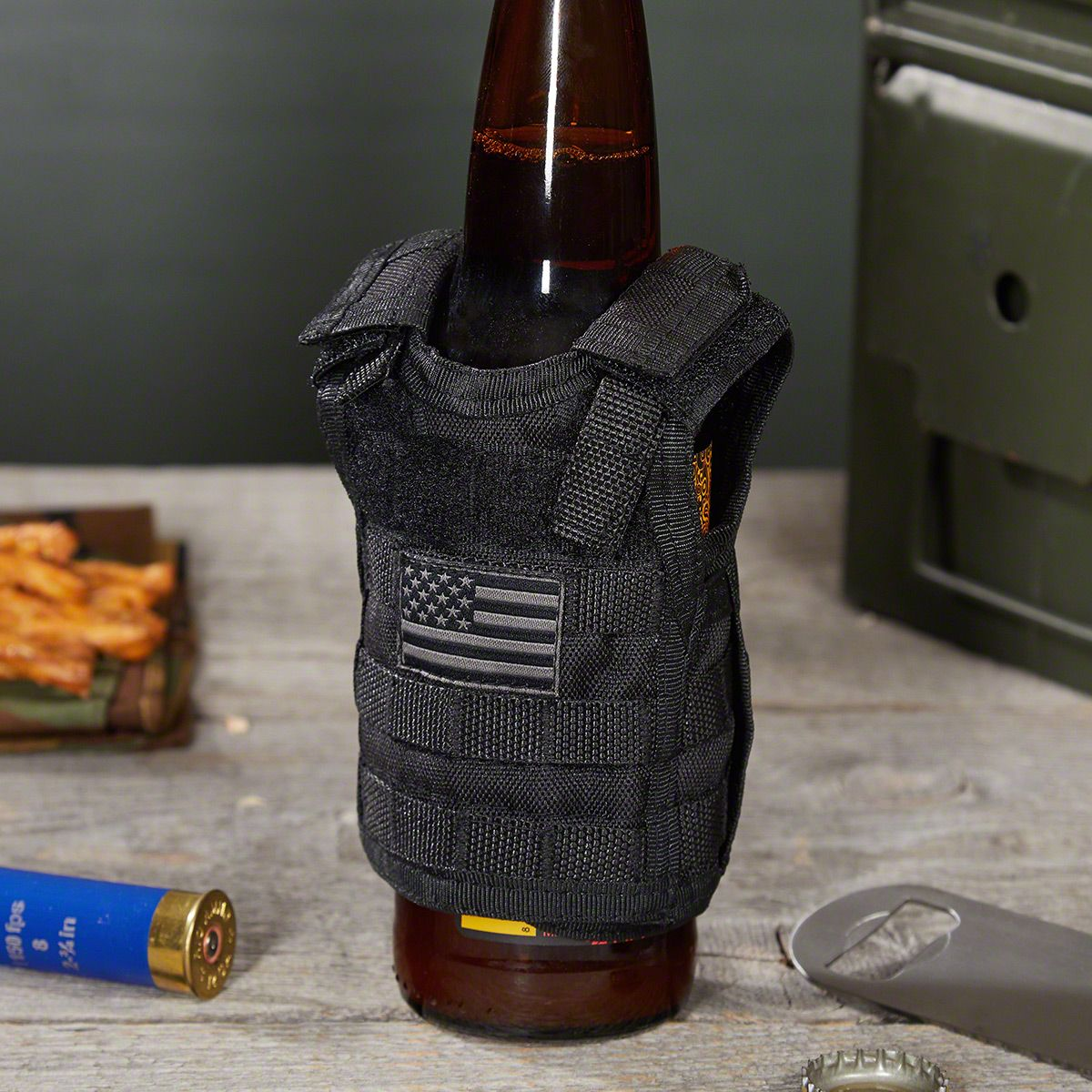 Tactical Vest Koozie Personalized