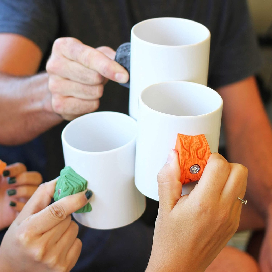 These Rock Climbing Mugs Come in Varying Levels of Difficulty For Climbers
