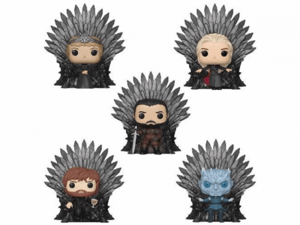 Funko Pop Game of Thrones Iron Throne Collection