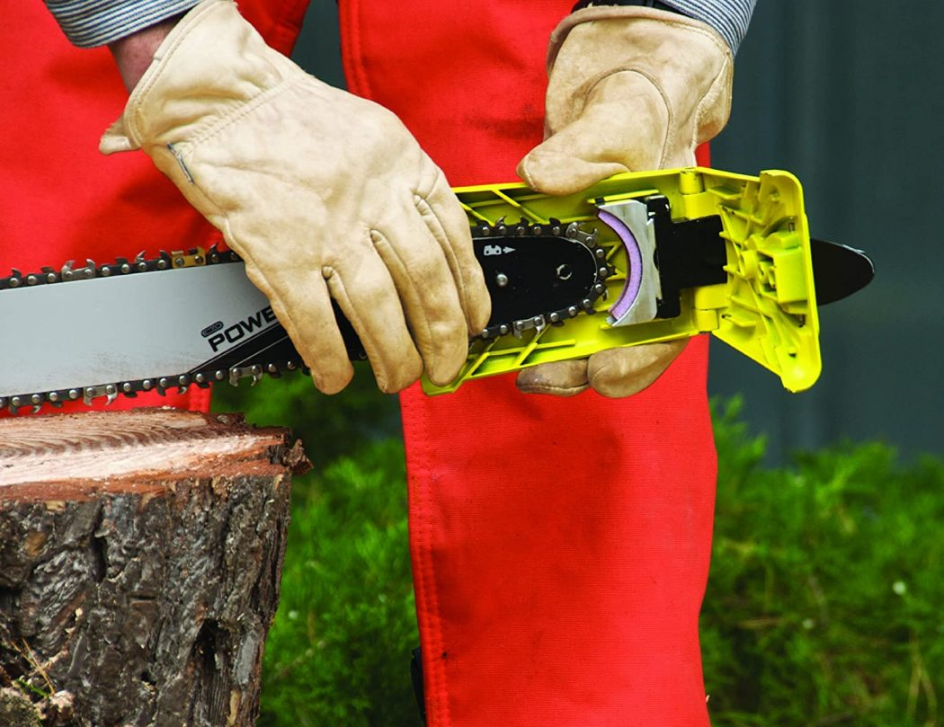 Chainsaw Teeth Sharpener Sharpens On the Bar Instantly
