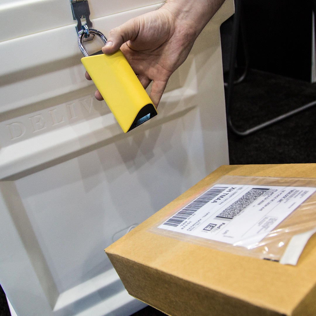 BoxLock Is A Smart Internet Connected Padlock To Protect Your Deliveries
