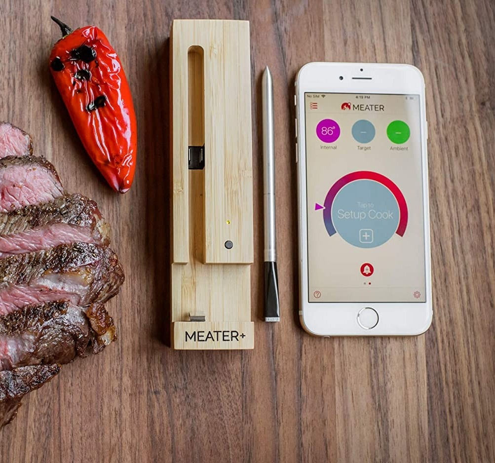 Meater Plus Smart Thermometer Now Has 5x Longer Wireless Bluetooth Extended Range