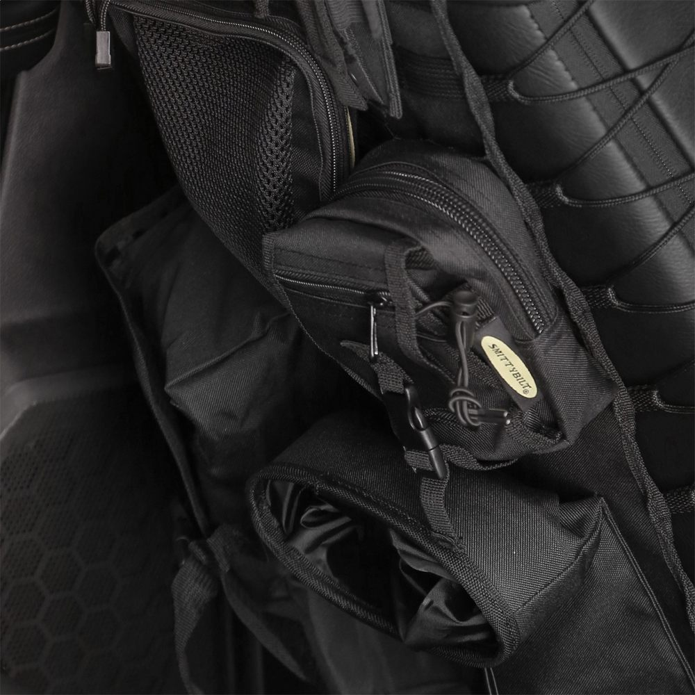 Universal Tactical Seat Covers: Military MOLLE Truck and Car Seat Organizers