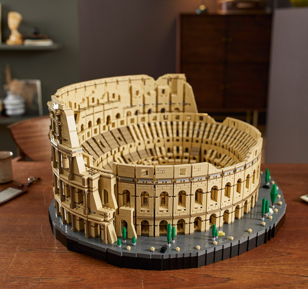Lego Colosseum The Legacy Of Rome Right At Home