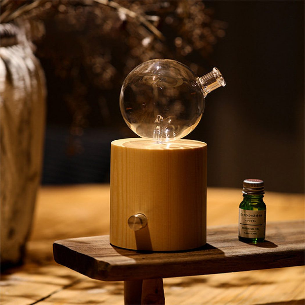 Nebulizing Diffuser For Essential Oils Freshen Naturally