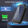 Ultra High Capacity Solar Power Bank Portable Panel Charger